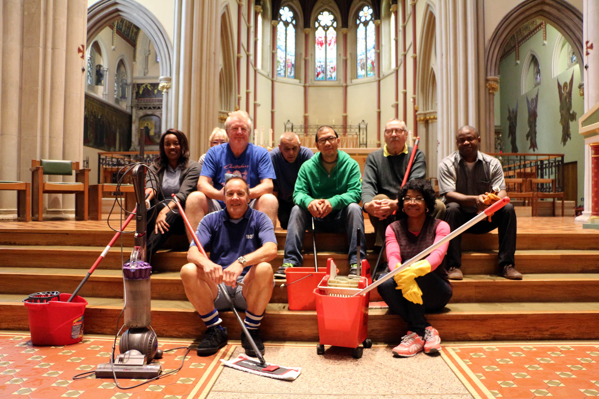 Cathedral Cleaning Team